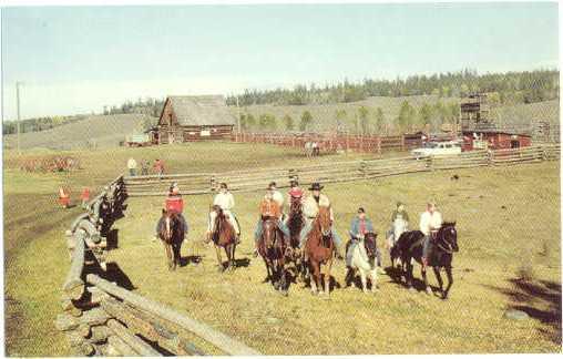 Springhouse Trails Ranch, Williams Lake, British Columbia, Canada, Chrome