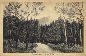 poland, ŚLĘŻA ZOBTENBERG, 718 m ü M. (1922)