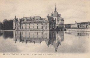 CHANTILLY, France, 1910-1920s, La Chatelet et la Chapelle