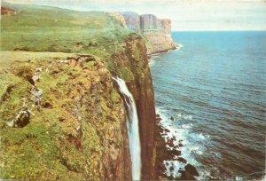 Postcard Uk Scotland Isle of Skye, Inverness-shire Kilt Rock Waterfall