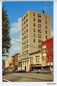 Elyria OH Bank Street View Old Cars Postcard