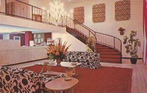 Interior View, Lobby, Front Desk, Staircase, The Ramada Inn, West Memphis, Ar...