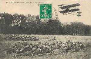 Aviation L´Infanterie au Combat Aeroplane en reconnaissance 02.86