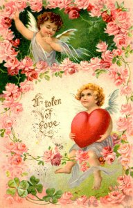 Greeting - Valentine's Day.
