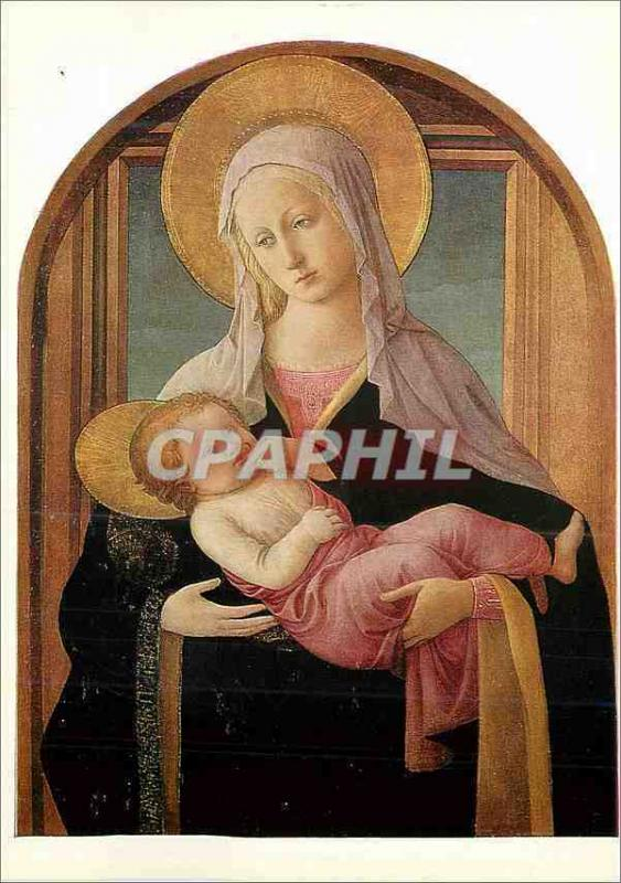 CPM National Gallery Lippi Fra Filippo (Ascribed to) The Virgin and Child