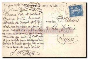 Old Postcard Juan Les Pins Port De I'Olivet