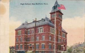 Massachusetts New Bedford High School 1910