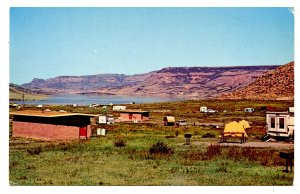CO - Blue Mesa Reservoir. Elk Creek Campground
