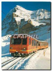 Postcard Modern Doppeltriebwagen BDhe 4 8211 Jungfraubahn