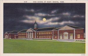 Bristol High School By Night Bristol Tennessee