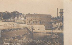 RP: STEEP FALLS , Me. , 1900-10s ; Dam