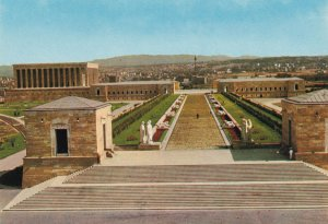 Anit Kabir The Mausoleum of Ataturk Turkey Postcard