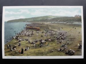 Denbighshire COLWYN BAY The Sands c1905 by C.WW. Faulkner & Co 224F