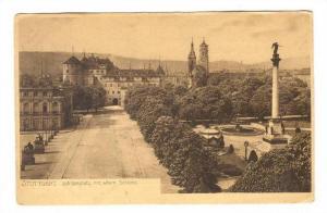 STUTTGART Schlossplatz mit altem Schloss, Baden-Wurttemberg, Germany, 10-20s