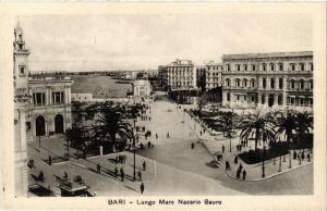 CPA AK BARI Lungo Mare Nazario Sauro. ITALY (531656)