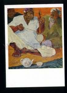 208911 TAJIKISTAN Habibullayev Gijak tea musician postcard