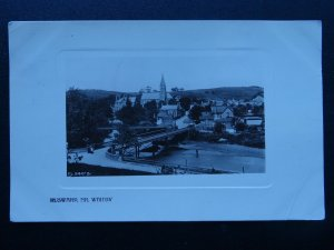 Yorkshire RUSWARP near Whitby c1915 RP Postcard by Rapid Photo
