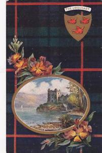 AS, Coat Of Arms, Urquhart Castle, The Urquhart, Scotland, UK, 1900-1910s
