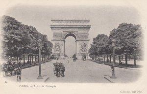 PARIS, France,1910-1920s, L Arc de Triomphe