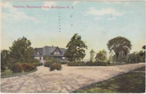 Maplewood Park Pavilion - Rochester NY, New York - pm 1910 - DB