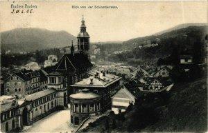 CPA AK Baden-Baden- Blick v. d. Schlossterrasse GERMANY (889045)