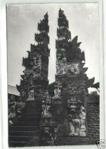 indonesia, BALI, Native Hindu Temple (1967) RPPC