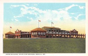 Sedalia MO Swine & Pigs Building~State Fairgrounds~1920s