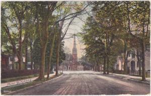 Watchune Avenue - Plainfield NJ New Jersey - pm 1909