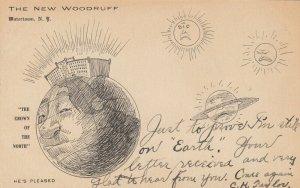 WATERTOWN , New York , 1901-07 ; The New Woodruff Hotel , Animated Globe