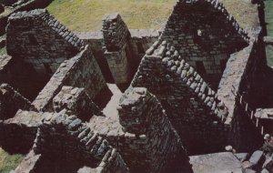 Ruins of Manchu Picchu-Cuzco , Peru , 50-60s