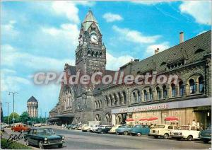 Postcard Modern Country in Lorraine Metz (Moselle) The train station
