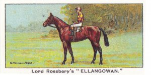 Ellangowan Winners On The Turf 1923 2000 Guineas Horse Racing Cigarette Card