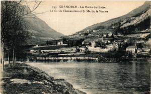 CPA GRENOBLE - Les Bords de l'Isere-Le Col de Clemenciere et St-MARTIN (434364)