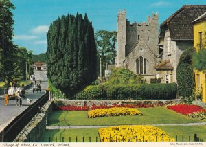 LIMERICK, Ireland, 1950-1960s; Village Of Adare