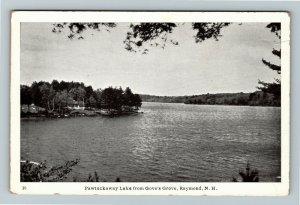 Raymond NH-New Hampshire Pawtuckaway Lake, Gove's Grove, Vintage Postcard