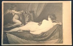 Picture Postcard Unused Diego Velasquez (2057) National Gallery Venus LB