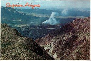 Arizona Superior Showing The Magna Copper Company Smelter