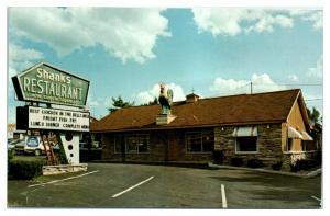 Shanks Restaurant, Lake Delton, WI Postcard *5E5