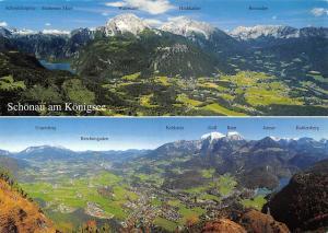 Schoenau am Koenigsee Panoramic view Kehlstein Watzmann Reiteralpe