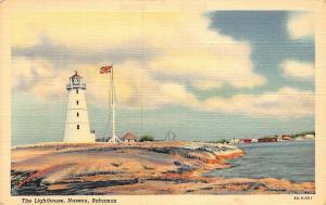 Bahamas Nassau The Lighthouse Postcard