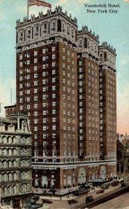 New York City Vanderbilt Hotel 1914 Curteich