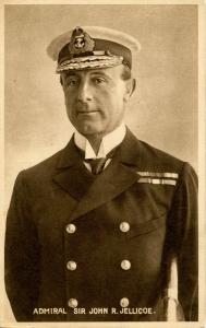 Famous People - Admiral Sir John R Jellicoe