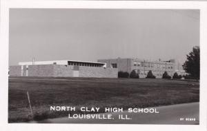 RP, North Clay High School (Exterior), Louisville, Illinois, 1930-1950s