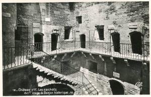 France - Marseille, Chateau d'If  Les Cachots   RPPC