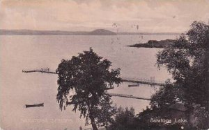 New York Saratoga Springs Saratoga Lake 1907
