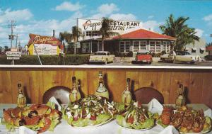 ST. PETERSBURG, Florida, 40-60s; 2-Views, Louis Pappas´ Restaurant