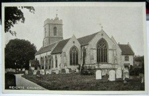 England Reigate Church - unposted