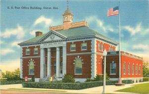 DE, Dover, Delaware, Post Office, Tichnor No. 66649