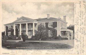G76/ Fresno California Postcard 1907 Residence Sunnyside Vineyard