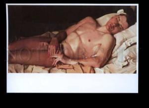 179166 Konstantin Somov Nude Boy Snezhkovsky modern postcard